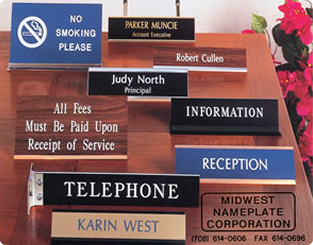Traditional Nameplates